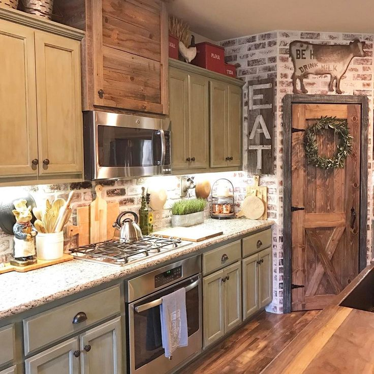 25+ Best Ideas about Farmhouse Kitchen Cabinets on