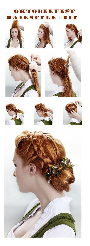 Best 20 Oktoberfest Hair Ideas On Pinterest Open Hairstyles