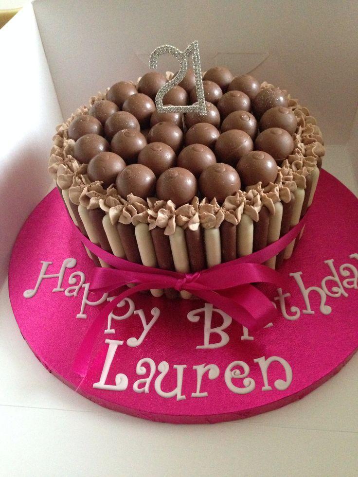 Lindt ball cake  R birthday  Pinterest  Cakes