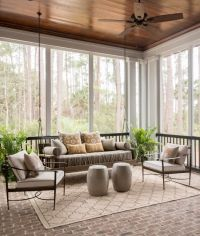 17 Best ideas about Sunroom Curtains on Pinterest | Corner ...