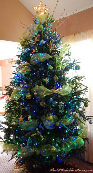 ocean hues tree on christmas i need the biggest and fullest tree ever i