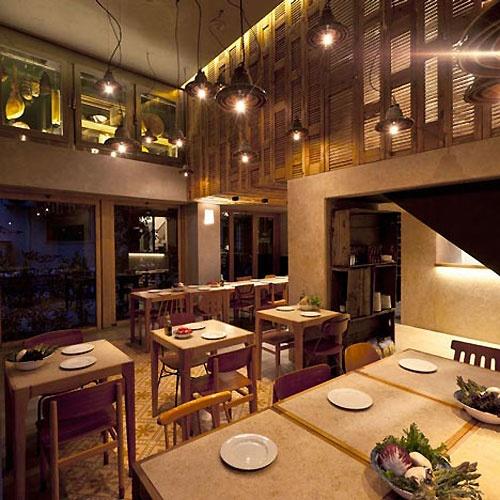 pizzeria design interior  In Design Magz VILLAGE