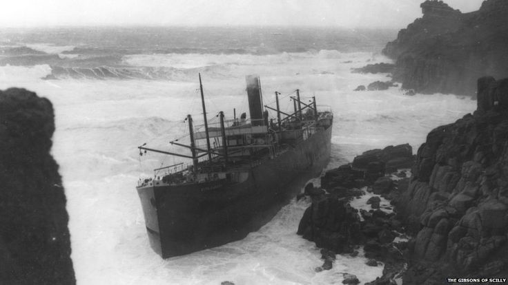 Cornwall Shipwrecks Collection Up For Auction Lands End