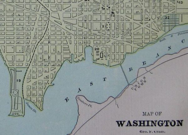 17 Best ideas about Map Of Washington Dc on Pinterest