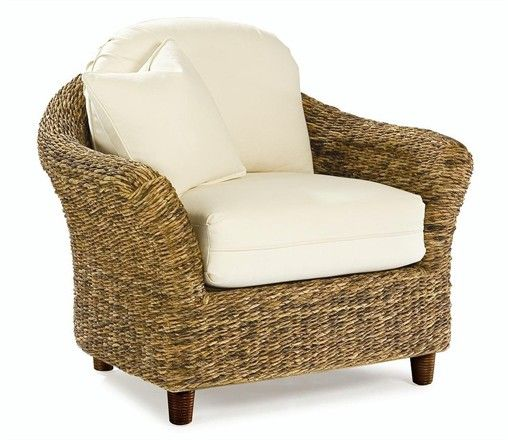 pottery barn club chair spring loaded seagrass - tangiers | furniture, i am and living rooms