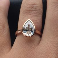 25+ Best Ideas about Bezel Diamond Rings on Pinterest