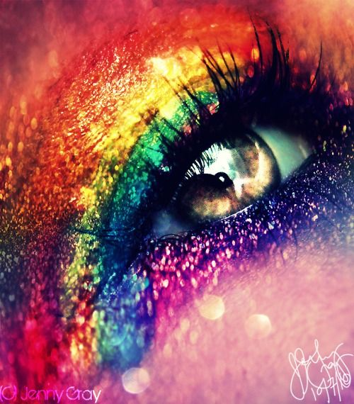1000 ideas about Rainbow Makeup on Pinterest Makeup