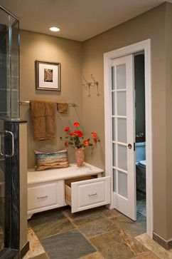 1000 ideas about Shower No Doors on Pinterest  Walk in Glass block shower and Bathroom