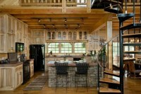 1000+ images about Log cabin kitchen on Pinterest ...