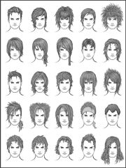 ideas male hair