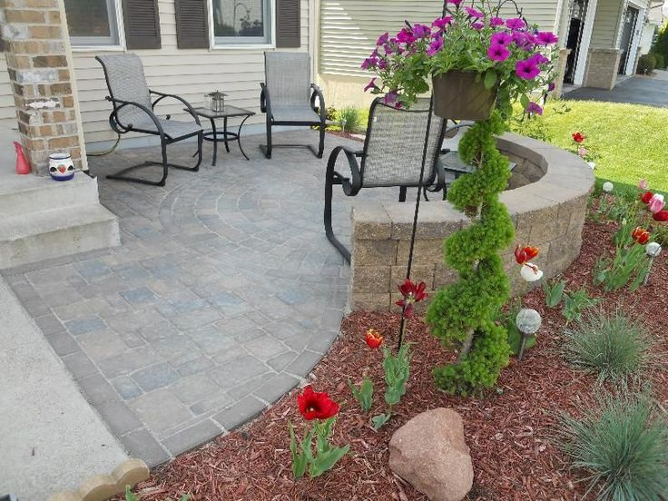 The 25 Best Front Yard Patio Ideas On Pinterest Front Yard