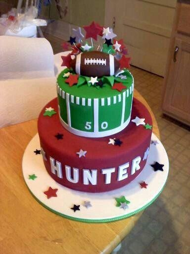 Football cake Baby Shower Ideas Pinterest Football