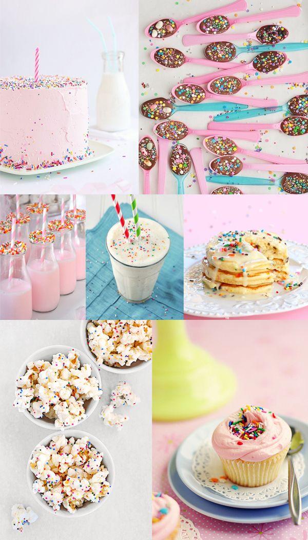 Sprinkles children's party idea