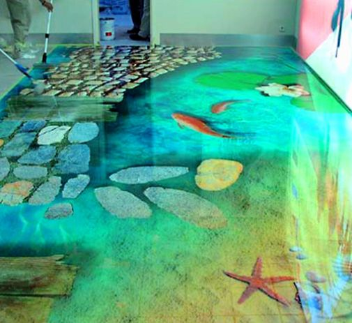 floors that look like water  Awesome Floor Tiles Design for Idea  1stfuncom  Ideas for the