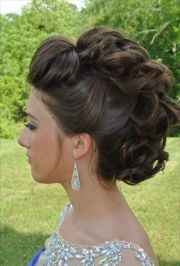 ideas mohawk updo
