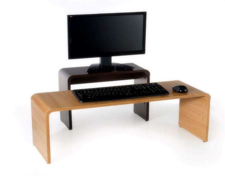Adjustable Keyboard Riser  Standing Desks  Pinterest