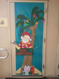 Office Door: Office Door Xmas Decorations
