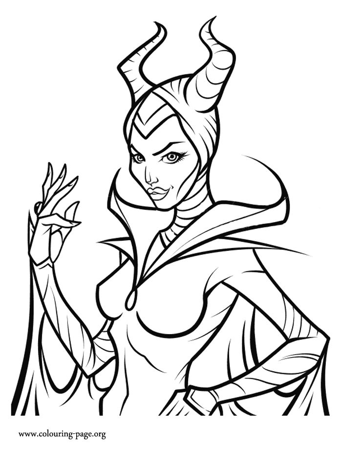 1000+ images about Disney Villains coloring pages on