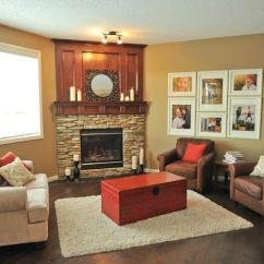 Living Room Furniture Arrangement With Corner Tv Rustic Theme 1000+ Images About Fireplaces On Pinterest | ...