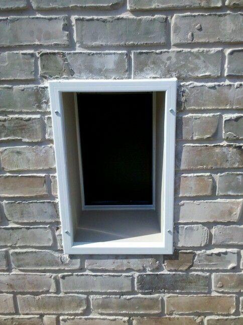 Doggy Door Through Brick Wall Stuff We Built Pinterest
