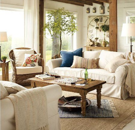 Home Decorating Styles Clean Country Decorating  Pottery
