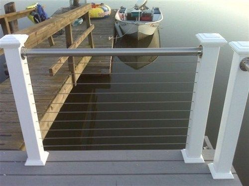 ipe adirondack chairs zero g chair human touch best 25+ stainless steel cable railing ideas on pinterest | railing, deck ...