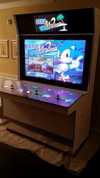 My latest creation. The Custom Gamejunky Arcade Cabinet ...