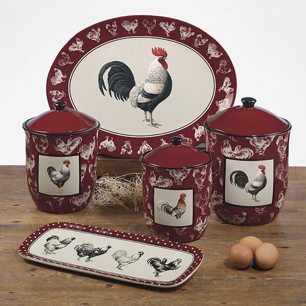 rooster canister sets kitchen diy cabinets 1000+ images about dinnerware on pinterest   lille ...