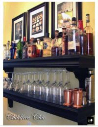 1000+ images about Home Bar Shelving Ideas on Pinterest ...