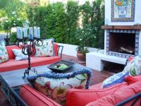 Another view spanish style backyard | Landscape ideas ...