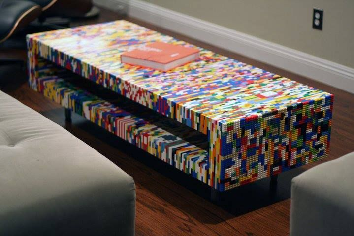 Lego  Table basse  Wanted  Playroom  Pinterest  My