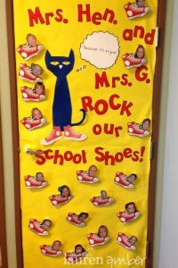 Pete the cats, Teacher appreciation and Door decorating on ...