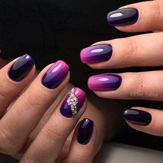 25+ best ideas about Ombre nail art on Pinterest