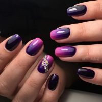25+ best ideas about Ombre nail art on Pinterest