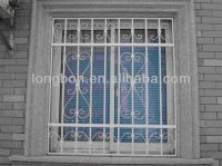 metal window security bars