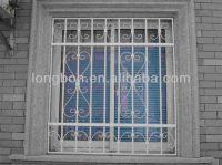 metal window security bars