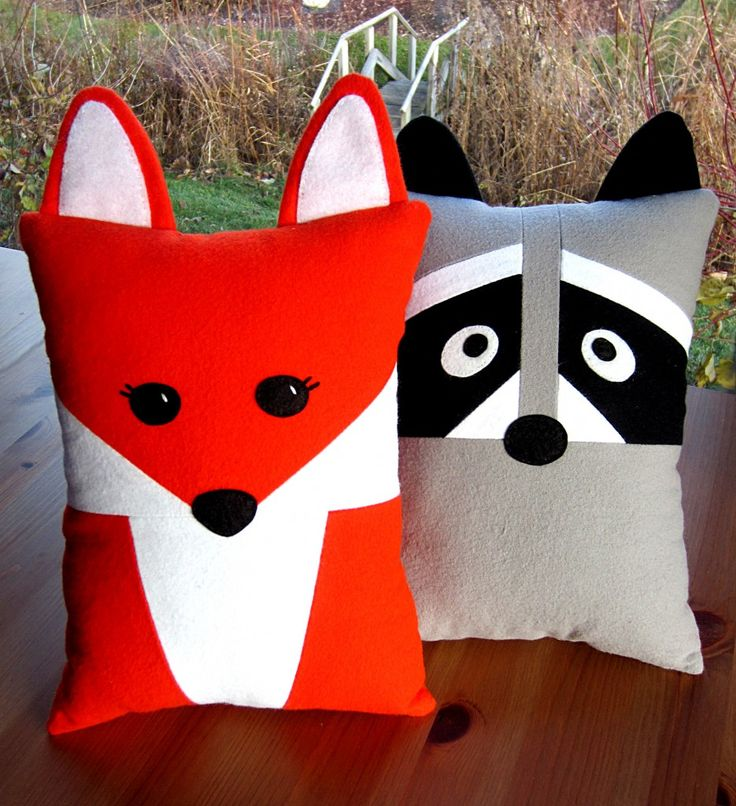25 best ideas about Animal pillows on Pinterest  Pillows for kids Pillow inspiration and