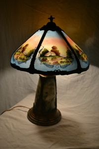 1000+ images about Reverse Painted Lamps on Pinterest ...