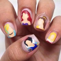 17 Best ideas about Princess Nail Art on Pinterest