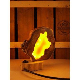 17 beste ideen over Houten Lamp op Pinterest  Houten