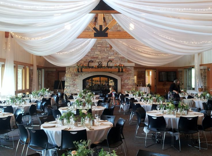 Elm Creek Chalet Ceiling by Grand Designs  Wedding and