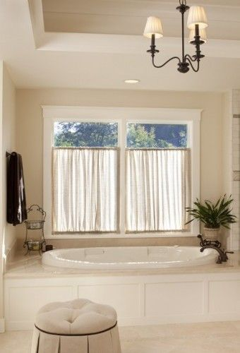 17 Best Ideas About Bathroom Window Curtains On Pinterest Window