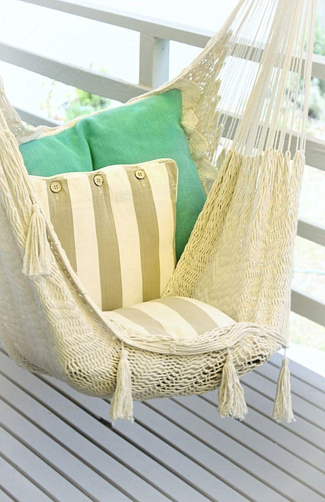 diy indoor hanging hammock chair ergonomic guitarists   nerd haven pinterest nooks, and