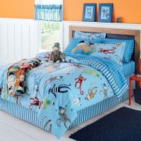 Sock Monkey Complete 6 Piece Bedding Set ~ Twin From ...