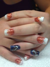 60 best images about Denver Broncos Nails on Pinterest ...