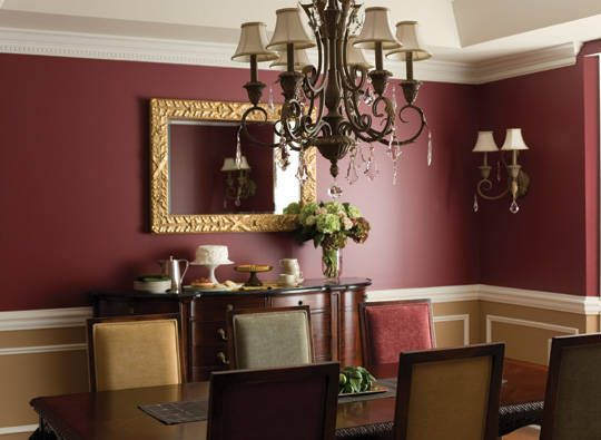 Marsala Pantone Color of the Year 2015  dining room  Marsala  Pinterest  Paint colors Room