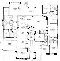 One Story 5 bedroom house | Floor Plans | Pinterest ...
