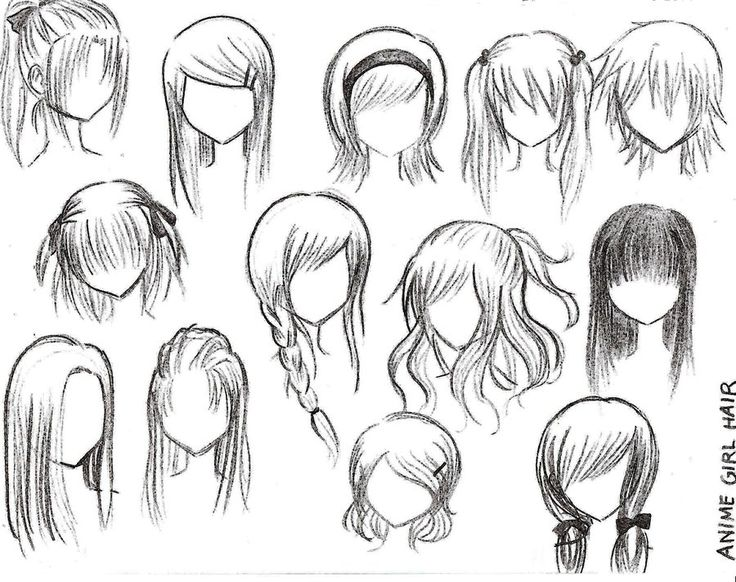25 Best Ideas About Manga Hairstyles On Pinterest Drawing