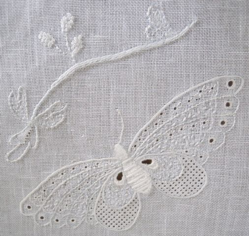 846 best images about Broderie blanche, ajourée, dentelle