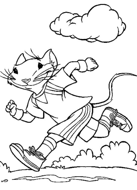 Physical Activity Coloring Pages Coloring Coloring Pages